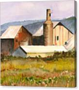 Old Koloa Sugar Mill Canvas Print