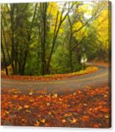 Old La Honda In Fall Canvas Print