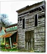 Old Leavenworth Indiana Ghost Town II Canvas Print