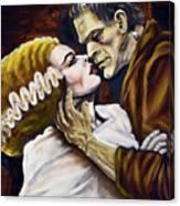 Old Loves Die Hard Canvas Print