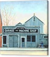 Old Machine Shop Canvas Print