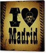 Old Madrid Canvas Print