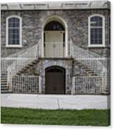 Old Main Penn State Stairs  Canvas Print