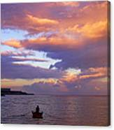 Old Man And The Sea- St Lucia Canvas Print