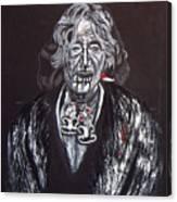 Old Maori Wahine Canvas Print