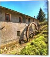 Old Mill - Antico Mulino Canvas Print