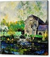 Old Mill In April Canvas Print