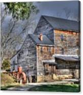 Old Mill Nelson County Virginia Canvas Print