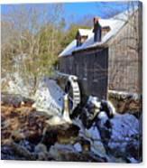 Old Mill On The Tom Tigney River, Nova Scotia Canvas Print