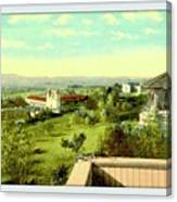 Old Mission And St. Anthony's College, Santa Barbara Ca, 1910 Canvas Print