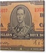 Old Money Canvas Print