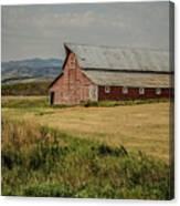 Old Montana Ranch Canvas Print
