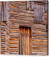 Old Mormon Barn Canvas Print