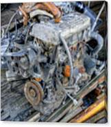 Old Motor Canvas Print