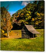 Old Mountain House Canvas Print