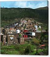 Old Moutain Village In Portugal Canvas Print