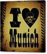 Old Munich Canvas Print