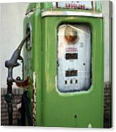 Old National Gas Pump Canvas Print