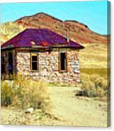 Old Nevada Bordello Canvas Print