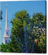 Old North Church, Boston # 3 Canvas Print