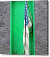 Old Old Glory Canvas Print