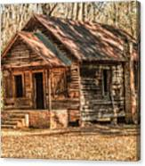 Old One Room School House Canvas Print