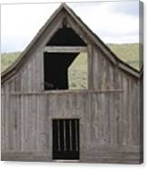 Old Oregon Barn Canvas Print