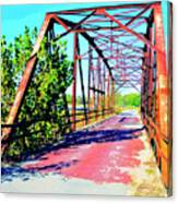 Old Ozark Trail Bridge Canvas Print