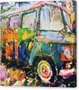 Old Paint Car Canvas Print