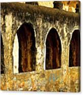 Old Patzcuaro Wall 3 Canvas Print