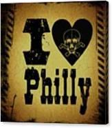 Old Philadelphia Canvas Print