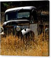 Old Pickup Truck Canvas Print