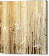 Old Planked Wood Used As Background Canvas Print
