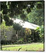 Old Plantation House Canvas Print