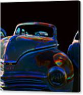 Old Plymouth Old Cars Canvas Print