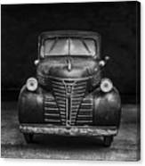 Old Plymouth Truck Square Canvas Print