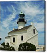 Old Point Loma Lighthouse Canvas Print