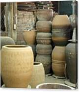 Old Pottery Workshop Canvas Print