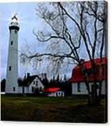 Old Presque Isle Lighthouse Canvas Print