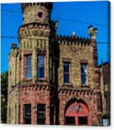 Old Racine Fire Station Canvas Print