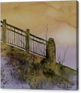 Old Railroad Bridge II Canvas Print