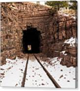 Old Railroad Tunnel Canvas Print