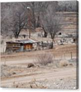 Old Ranch House Canvas Print