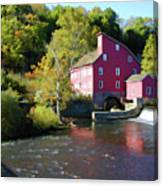 Old Red Mill Canvas Print