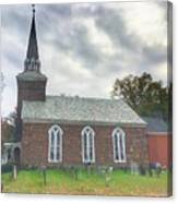 Old Reform Church Canvas Print