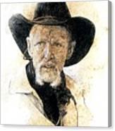 Old Rider Canvas Print