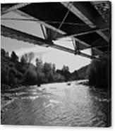 Old Rio Grande Bridge Canvas Print
