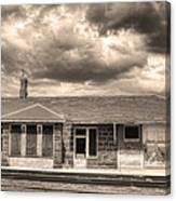 Old Rio Grande Train Stop Canvas Print