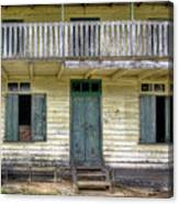 Old River House Canvas Print
