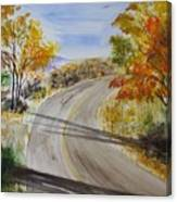 Old Road Canvas Print